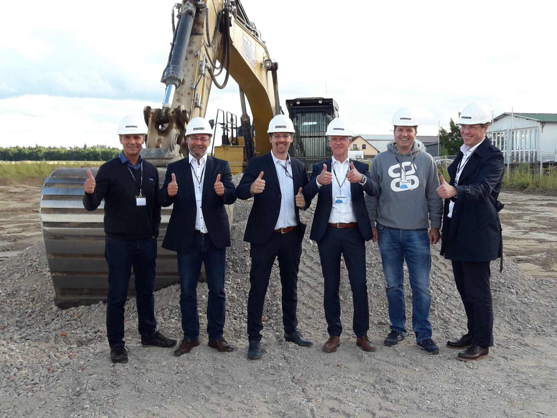Baustellen-Sommerfest Panattoni Europe in Ketsch